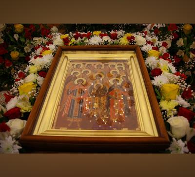 Митрополит Арсений вдень Собора Архангела Михаила совершил Богослужение вскиту с.Адамовка (фото, видео)
