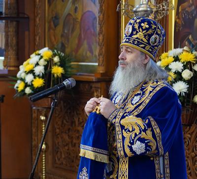 Проповедь митрополита Арсения впраздник Сретения Господня(видео)