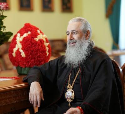 В Святогорской Лавре инародине свт.Иоанна Шанхайского состоялись съёмки нового телевизионного проекта (фото)