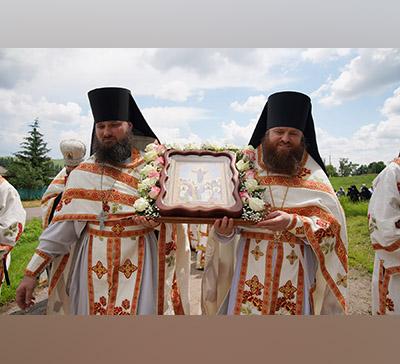 Вознесение Господне— престольный день подворья вс.Никольское (фото,видео)