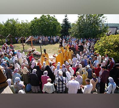 Престольный день Лавры и годовщина со дня кончины архимандрита Серафима (Лаврика) (фото,видео)
