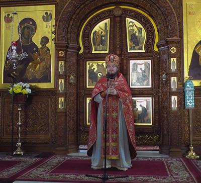 Проповедь архимандрита Исихия (Клыпы) в праздник пророка Илии (видео)
