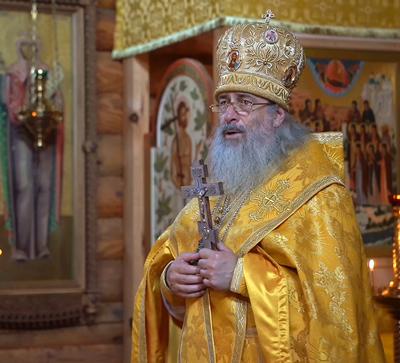 Слово митрополита Арсения вдень годовщины архимандрита Серафима (Лаврика) (видео)